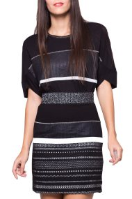 Γυναικεία φούστα Desigual - 17WWFK04 - Μαύρο