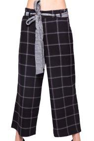 Γυναικείο παντελόνι Desigual - 17WWPW16 - Μαύρο