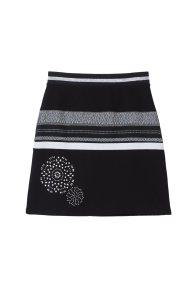 Desigual γυναικεία φούστα Jana - 18WWFK07 - Μαύρο