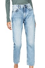 340713c56ced Pepe Jeans γυναικείο τζην παντελόνι ξεββαμένο cropped - PL203156MD00 - Μπλε  Ανοιχτό