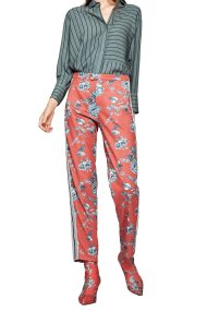 Pepe Jeans γυναικείο παντελόνι με print Marta - PL211254 - Κοραλί