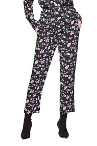 Pepe Jeans γυναικείο παντελόνι εμπριμέ Greta - PL211251 - Μαύρο