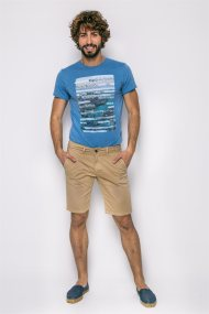 Ανδρική βερμούδα Pepe Jeans - PM800227C750 - Μπεζ