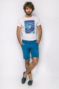 Ανδρική βερμούδα Pepe Jeans - PM800227C750 - Μπλε Ανοιχτό