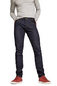 Pepe Jeans ανδρικό τζην παντελόνι μπλε-μαύρο Spike 34 - PM200029H054 - Μπλε Σκούρο