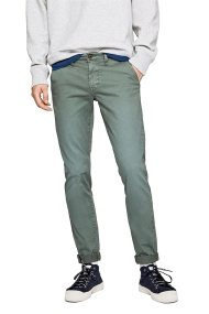 Pepe Jeans ανδρικό παντελόνι chinos Charly L34 - PM210992C344 - Βεραμάν