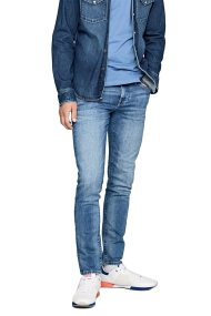 Pepe Jeans ανδρικό τζην παντελόνι Hatch L32 - PM200823WY52 - Μπλε
