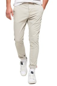 Ανδρικό παντελόνι International Chino Lite Pants Superdry - M70001TQF2 - Μπεζ