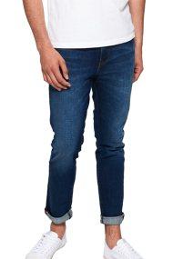 Superdry ανδρικό παντελόνι τζην Tyler Slim - M70003ER - Μπλε Σκούρο