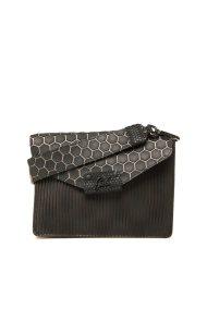 Gabs γυναικείο mini bag δερμάτινο με γεωμετρικά σχέδια - G1120T2X0378 - Μαύρο