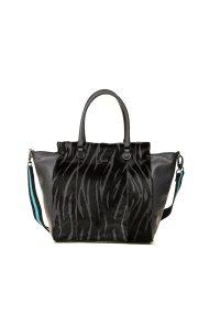 Gabs γυναικεία τσάντα χειρός με animal print - G1350T2X0358 - Γκρι