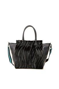 7daa7d7809 Gabs γυναικεία τσάντα χειρός με animal print - G1350T2X0358 - Γκρι