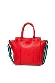 Gabs γυναικεία τσάντα χειρός με ριγέ ιμάντα - G1350T2X0360 - Κόκκινο