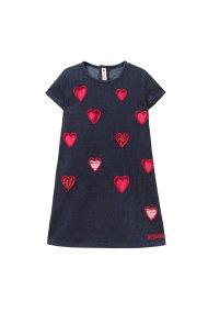 Desigual παιδικό φόρεμα Ausitn - 18WGVD06 - Μπλε Σκούρο
