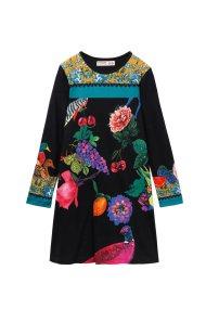 Desigual παιδικό φόρεμα Port Louis - 18WGVK24 - Πολύχρωμο