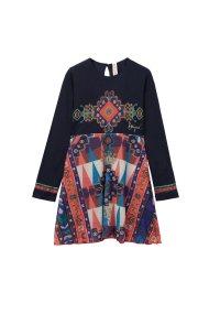 Desigual παιδικό φόρεμαFlaubert - 18WGVK76 - Μπλε Σκούρο
