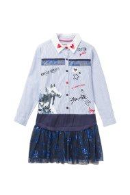 Desigual παιδικό φόρεμαTacoma - 18WGVW33 - Γαλάζιο