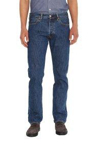 Ανδρικό τζην παντελόνι 501® Original Fit (34L) Levi's - 0050101-14-34 - Μπλε Σκούρο