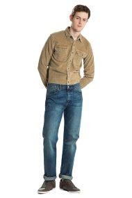 Ανδρικό τζην παντελόνι (34L) 501® Original Fit Levi's - 0050113-07-34 - Μπλε