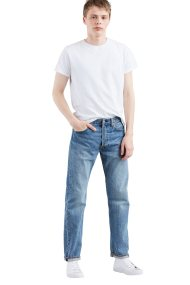 Levi's ανδρικό τζην παντελόνι μπλε ανοιχτό 501® Original Fit (32L) - 0050126-37-32 - Μπλε