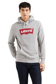 Levi's ανδρικό φούτερ με κουκούλα Graphic Hoodie - 1949100-37 - Γκρι