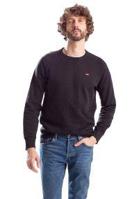Levi's ανδρικό φούτερ μαύρο Graphic Housemark - 5617600-03 - Μαύρο