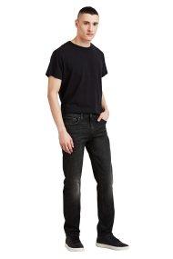 Levis ανδρικό τζην παντελόνι 511 Slim Fit (32L) - 0451130-02-32 - Μαύρο