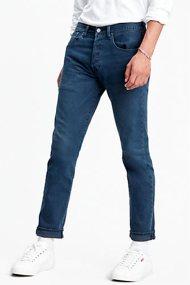 Levi's® ανδρικό τζην παντελόνι 501® Slim Taper Jeans (34L) - 2889402-09-34 - Μπλε Σκούρο