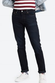 Levi's® ανδρικό τζην παντελόνι 511™ Slim (34L) - 0451137-20-34 - Μπλε Σκούρο