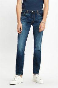 Levi's® ανδρικό τζην παντελόνι 511™ Slim (34L) - 0451143-14-34 - Μπλε Σκούρο