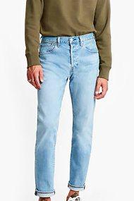 Levi's® ανδρικό τζην παντελόνι 501® Slim Taper - 2889402-24-34 - Ανοιχτό Γαλάζιο