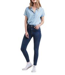 Γυναικείο τζην παντελόνι Mile High Super Skinny Indigo (32L) Levi's - 2279100-37-32 - Μπλε Σκούρο