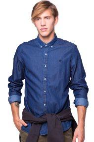 Ανδρικό πουκάμισο Timberland - C0YH2DK11 - Μπλε