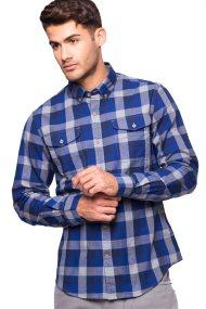 Ανδρικό πουκάμισο Timberland - C0YH1WQ17 - Μπλε