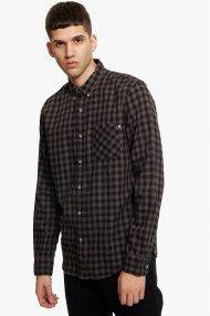 Timberland ανδρικό πουκάμισο καρό Back River Gingham - TB0A1OBWJ551 - Καφέ