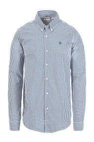 Timberland ανδρικό πουκάμισο Suncook River Gingham καρό - TB0A1MANG661 -  Μπλε Σκούρο c754e9f3bfa