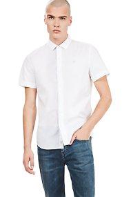 Timberland ανδρικό κοντομάνικο πουκάμισο μονόχρωμο - TB0A1NV81001 - Λευκό