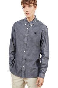 Timberland ανδρικό πουκάμισο Wellfleet - TB0A1OJSB681 - Ανθρακί