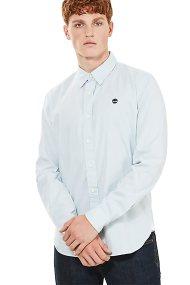 Timberland ανδρικό πουκάμισο καρό Milford Checked Oxford - TB0A1OJVB021 - Γαλάζιο