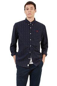 Τimberland ανδρικό πουκάμισο Τioga River Texture - TB0A1NVWR121 - Μαύρο