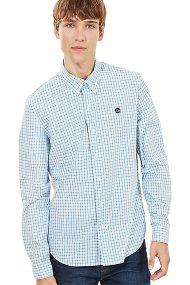 Τimberland ανδρικό πουκάμισο καρό Suncook River Gingham - TB0A1ML2B021 - Γαλάζιο