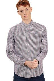 Τimberland ανδρικό πουκάμισο καρό Suncook River Gingham - TB0A1ML2Q901 - Μπορντό