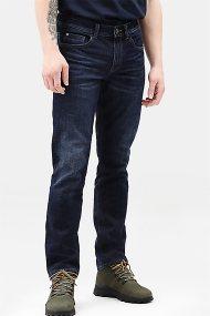 Timberland ανδρικό τζην παντελόνι με ξεβαμμένη όψη - TB0A1XTTW231 - Μπλε Σκούρο