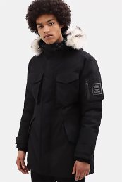Timberland ανδρικό parka Nordic Edge Expedition Parka - TB0A1XXT0011 - Μαύρο