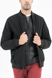 Timberland ανδρικό bomber jacket 3in1 - TB0A1WSD0011 - Μαύρο