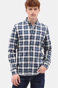 Timberland ανδρικό πουκάμισο καρό Eastham River Tartan - TB0A1YJVG661 - Μπλε