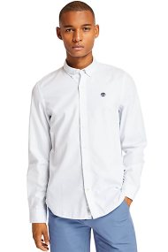 Timberland ανδρικό μονόχρωμο πουκάμισο Ela River - TB0A21XQB021 - Ανοιχτό Γαλάζιο