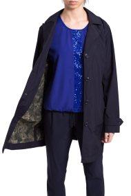 Γυναικεία καμπαρντίνα Betty Barclay - 4302/2632 - Μπλε Σκούρο