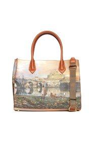 Ynot? γυναικεία τσάντα χειρός με all-over print - K-376 - Ταμπά