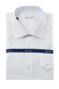Dur ανδρικό πουκάμισο Oxford - 10000046 - Λευκό